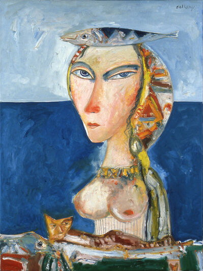 John Bellany R.A., 'Woman of the Sea', 1995