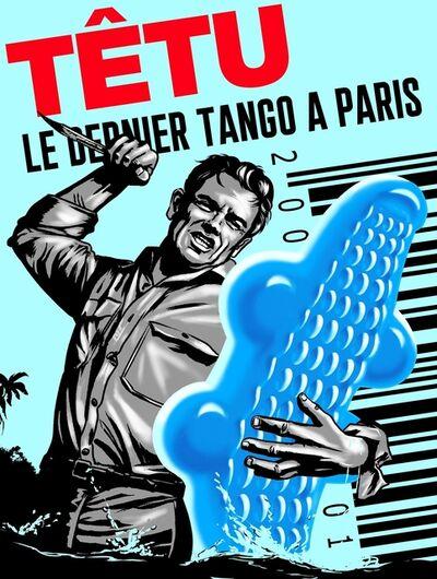 PHILIPPE GRIMAUD, 'LE DERNIER TANGO A PARIS (BLUE EDITION)', 2019