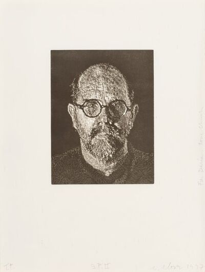 Chuck Close, 'Self Portrait #2', 1997