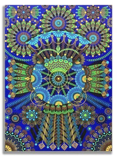 "Koralie, '""Kaleidoscopic Nature 5""', 2018"