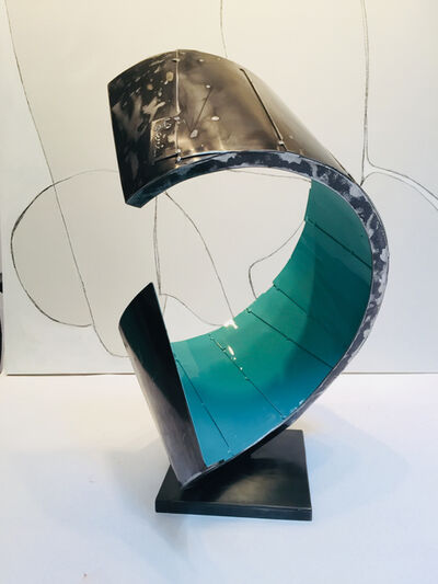 Dennis Leri, 'Turquoise Curl'
