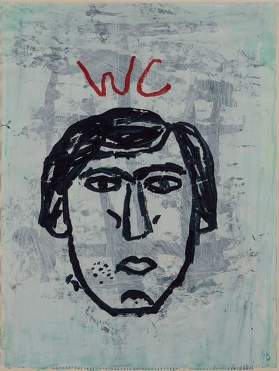 Donald Baechler, 'Water Closet Drawing #1', 1985