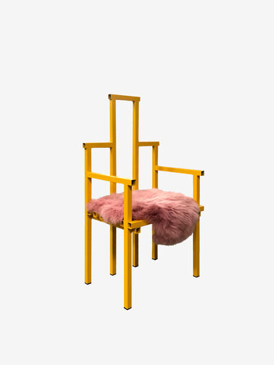 Fredrik Paulsen, 'Peach Melba Chair', 2018