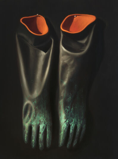Ken Currie, 'Chinese Gloves', 2020
