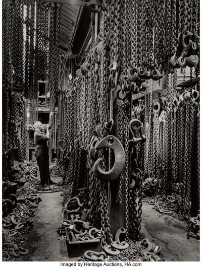 John Maltby, 'Chain Store at W&E Moore', circa 1950s-printed later