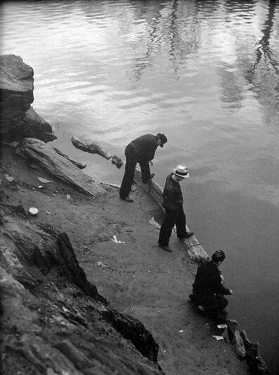 John Albok, 'After School Hours, Central Park  N.Y.', 1936