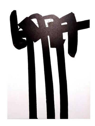 Pierre Soulages, 'Pierre Soulages - Original Lithograph', 1970