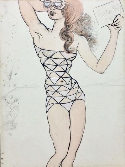 Salvador Dalí, 'Fifty-fifty', 1965