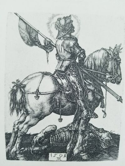 Albrecht Dürer, 'Saint George on Horseback', 1508