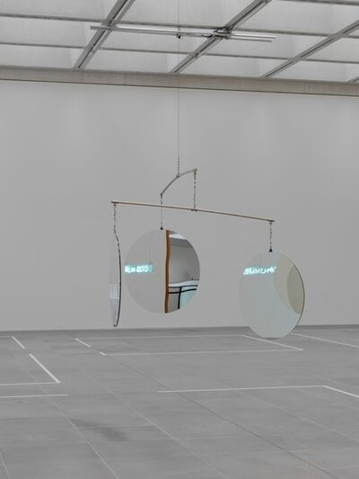 Jeppe Hein, '3-Dimensional Mirror Mobile', 2009