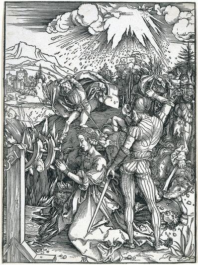 Albrecht Dürer, 'Martyrdom of Saint Catherine', 1497