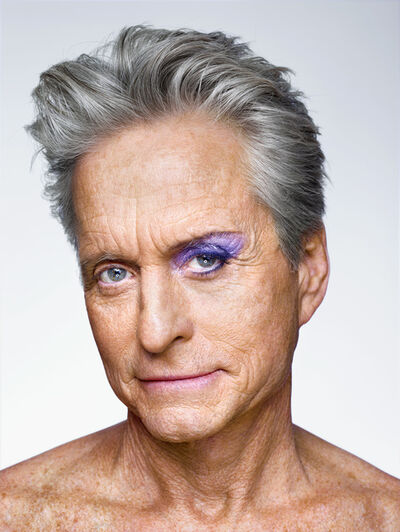 Martin Schoeller, 'Michael Douglas with Eyeshadow', 2013