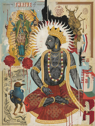 Ravi Zupa, 'Thinking About His Wife', 2019
