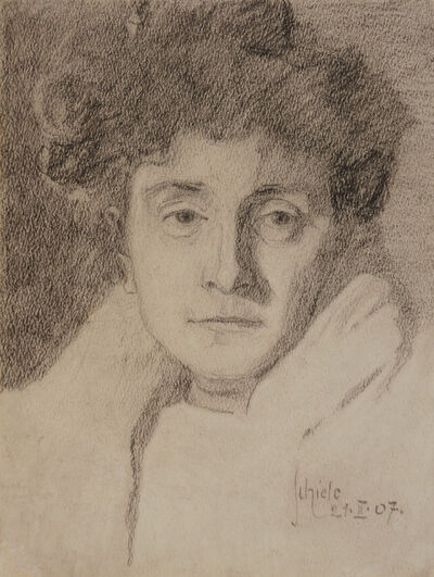 Egon Schiele, 'Portrait of a Lady (The Artist's Mother)', 1907