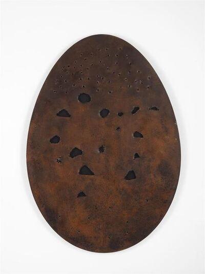 Gavin Turk, 'Holy Egg (Corten Dark)', 2017