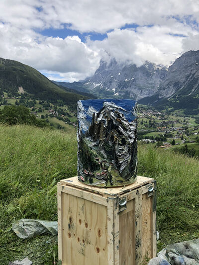 Christopher Lehmpfuhl, 'Eiger-Panorama', 2018