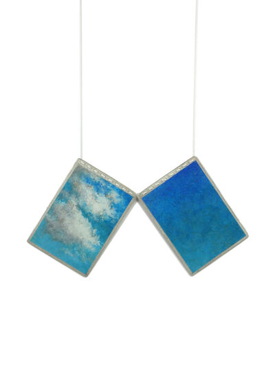 Mielle Harvey, 'Moments of Sky | Necklace Diptych', 2017