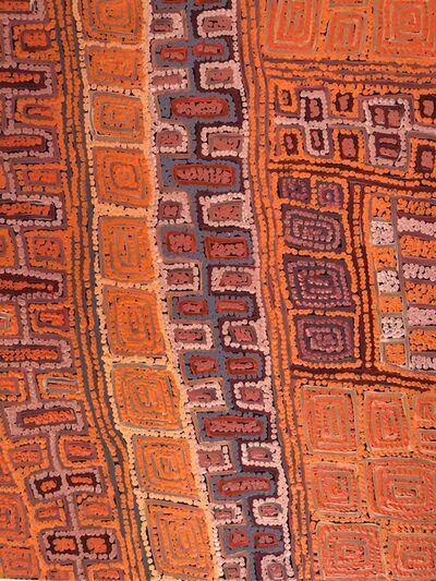 Patrick TJUNGURRAYI, 'Wanawarra (Rainbow snake)', 2019