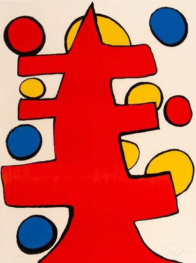 Alexander Calder, 'Group of Five Prints'