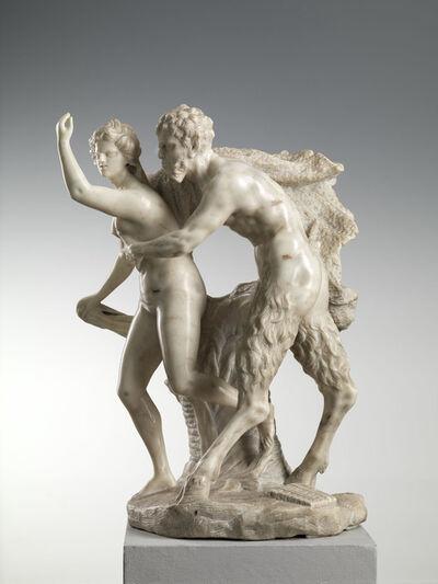 Francesco Bertos, 'Pan and Syrinx', Early 18th Century