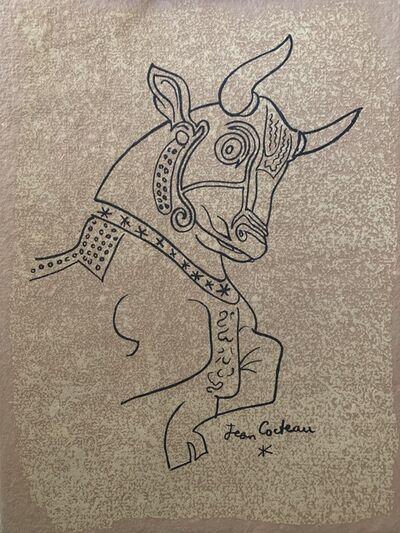 Jean Cocteau, 'Taureaux', 1965