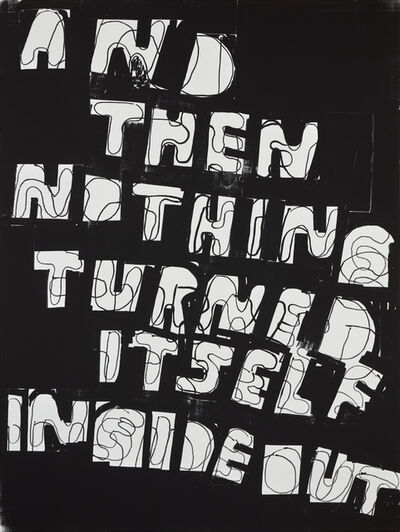 Stefan Marx, 'And Then Nothing Turned Itself Inside out', 2020