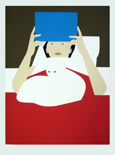 Will Barnet, 'Woman Reading', 1970