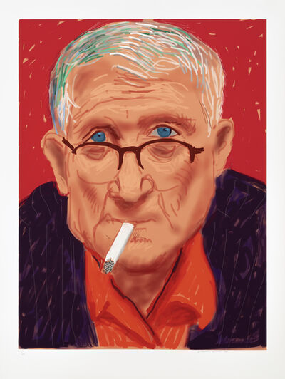 David Hockney, 'Self Portrait III, 20 March 2012', 2012