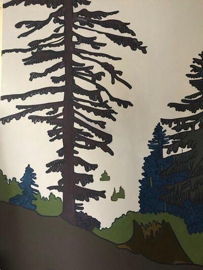 Hubert Schmalix, 'Tree and Fog', 2017