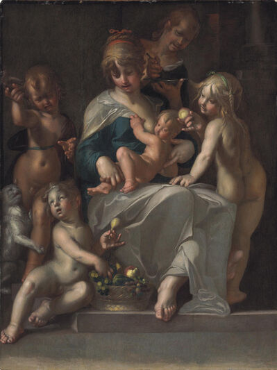 Joachim Anthonisz Wtewael, 'Charity'