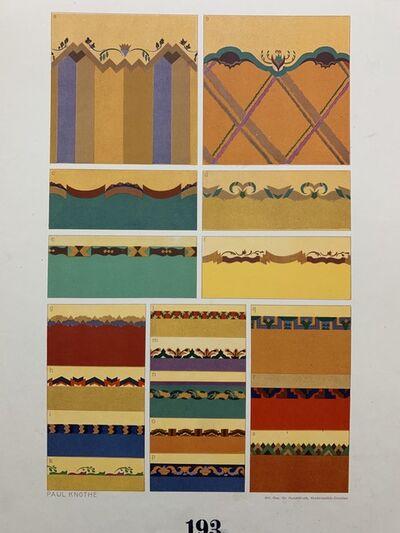 Paul Knothe, 'Der Maler Als Raumkunstler', 1907