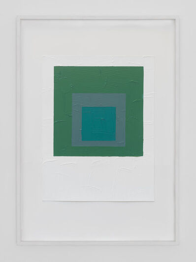 Bertrand Lavier, 'Green Composition (Albers)', 1985
