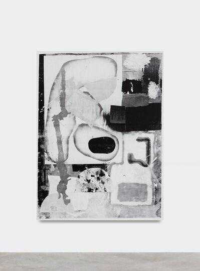 Linus Bill + Adrien Horni, 'Mixed Media B/W 18', 2019