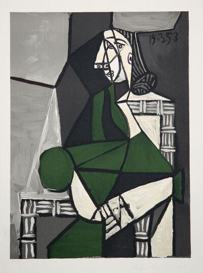 Pablo Picasso, 'Portrait de Femme Assise, Robe Verte, 1953', 1979-1982