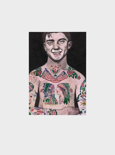 Peter Blake, 'Tattooed People, Percy', 2015