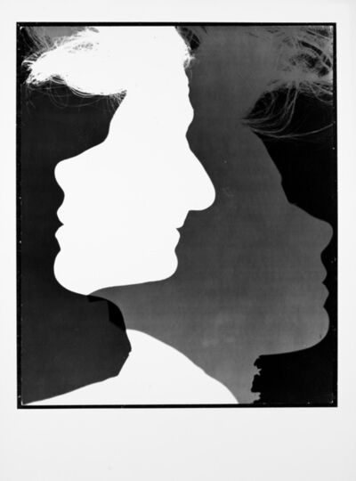 Erwin Blumenfeld, 'Three profiles New York, 1943', 1943/1989