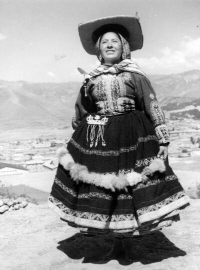 Martín Chambi, 'Mujer peruana / Peruvian Woman, Cusco, Peru', 1930s