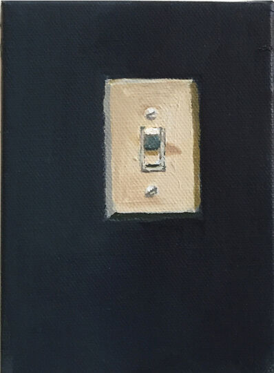 Shirley Irons, 'Black Light Switch', 2018