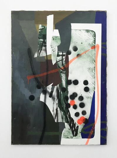 Claus Carstensen, 'Defaced Ella Petersen 1954 Lore', 2017