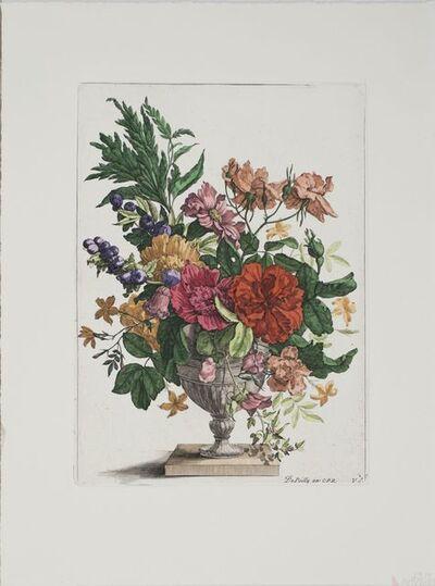 Francois de Poilly I after Philippe de Champaigne, 'Floral Bouquet', (Date unknown)