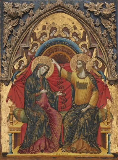Paolo Veneziano, 'The Coronation of the Virgin', 1324