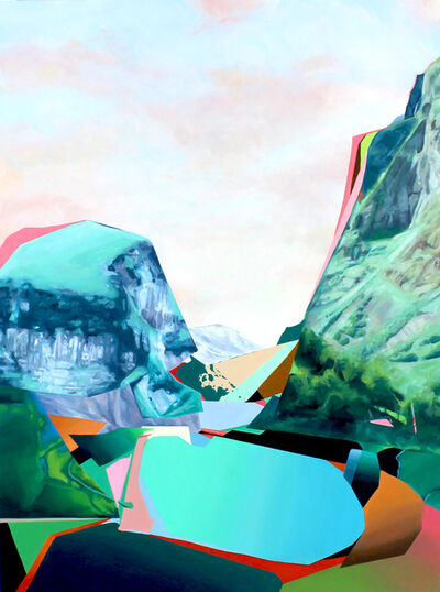 Jennifer Nehrbass, 'Rainbow Lake', 2021