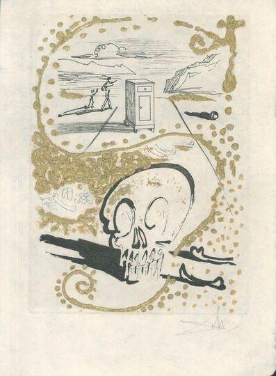 "Salvador Dalí, 'Insomnie - from ""Les Amours Jaunes""', 1974"
