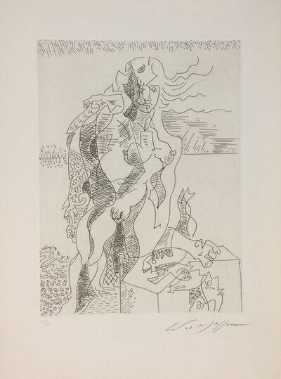 André Masson, 'La Jeune Pêcheuse', 1970