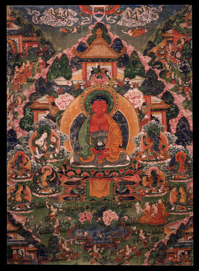 'Buddha Amitabha in His Pure Land of Sukhavati', 18th century