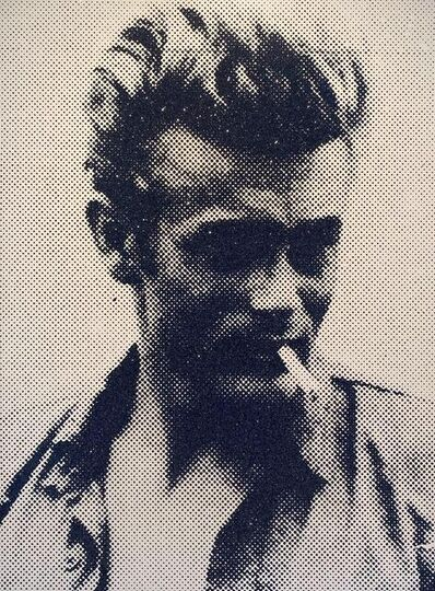 Russell Young, 'James Dean, Atomic Gold', 2011