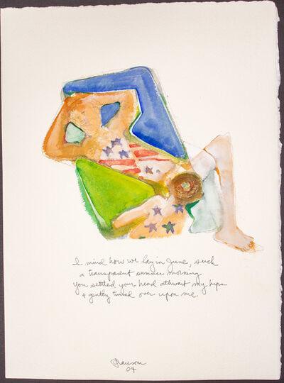 John Ransom Phillips, 'I mind how we lay...', 2004