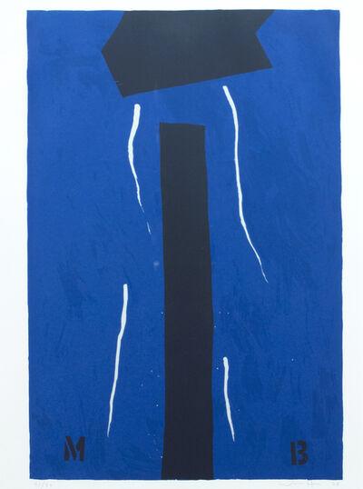 Emerson Woelffer, 'Blue Murder', 1978