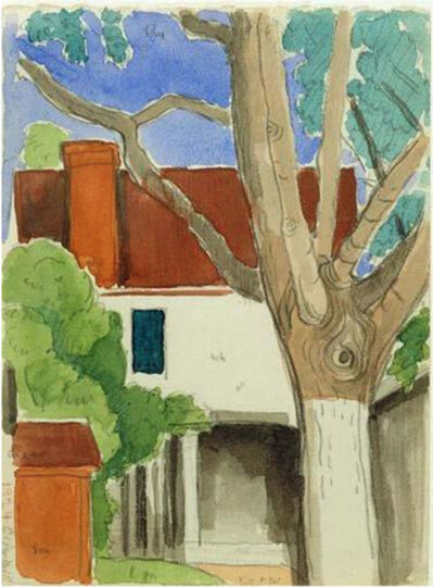 Oscar Bluemner, 'Cider Mill', 1924