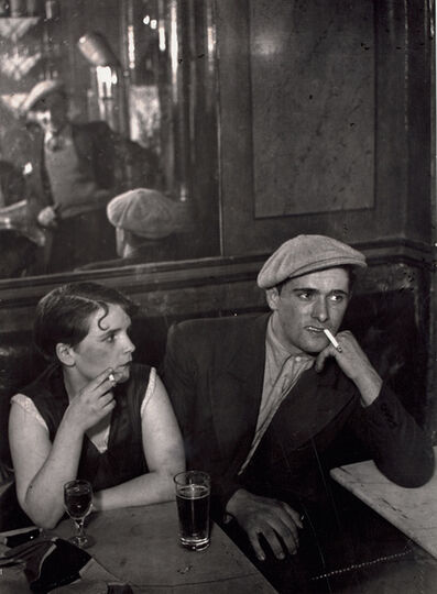Brassai (Gyula Halasz), 'The Lovers' Tiff, Rue Saint-Denis', circa 1931